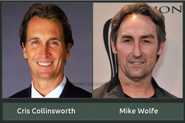 Cris Collinsworth And His Alter Ego Mike Wolfe