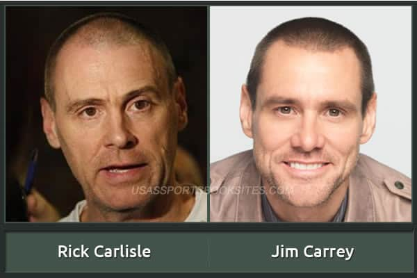 Rick Carlisle And His Alter Ego Jim Carrey