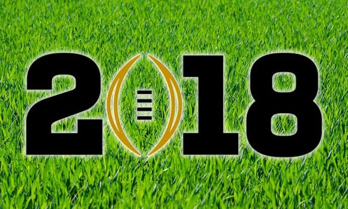 College Football Playoffs Bowl Games 2018
