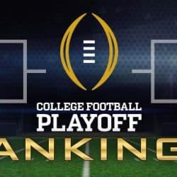 NCAAF College Football Conference Championship Rankings