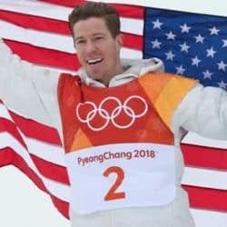 Shaun White wins 100th gold medal for USA