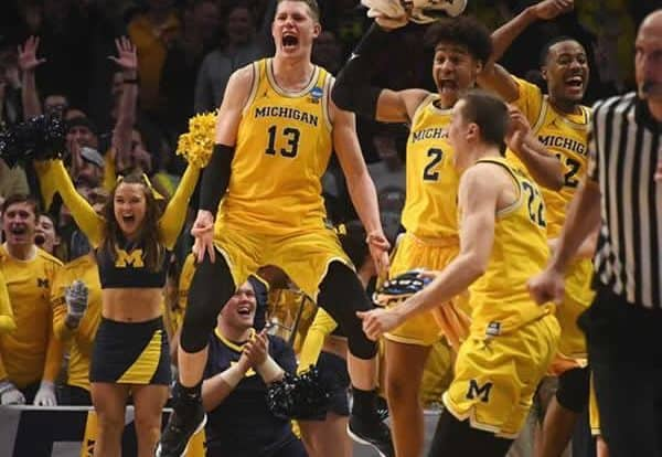 Michigan NCAAB 2018 Championship game