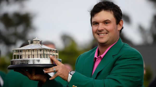 Patrick Reed after winning 2018 Masters
