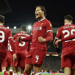 Players in Liverpool Soccer Team 2018