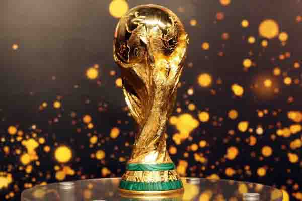 The World Cup trophy is up for grabs