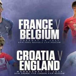 2018 World Cup semifinal preview