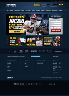 Screenshot of SportsBetting.ag