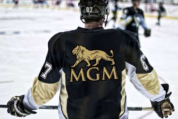 MGM hockey player