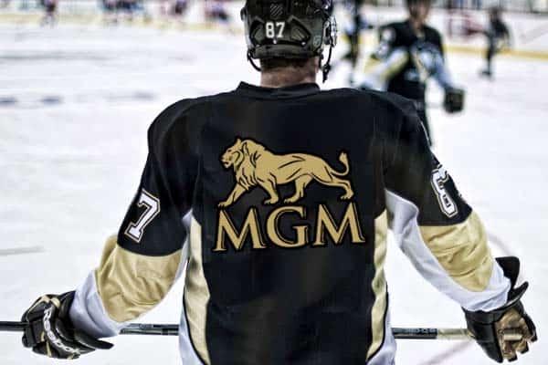 MGM hockey player