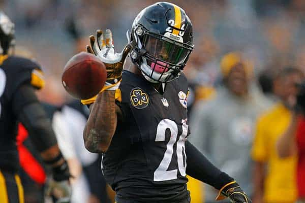 Le'Veon Bell as Salt Bae