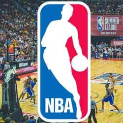 NBA game logo