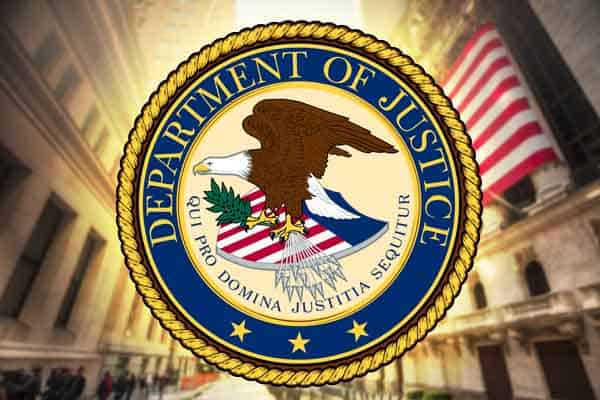 Department of Justice official seal