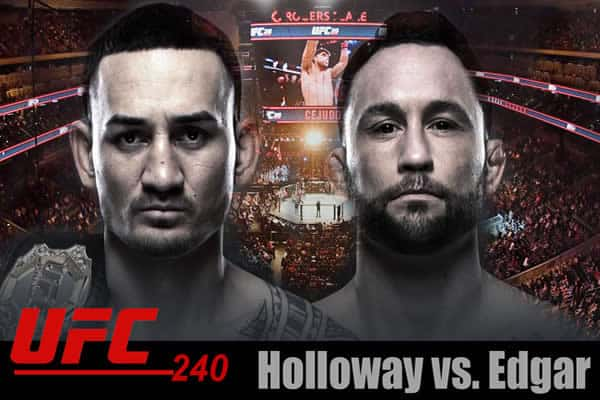 Holloway vs Edgar promo shot