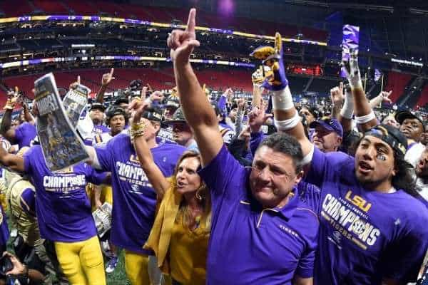 lsu national champion favorites 2019