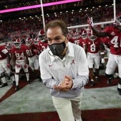 Alabama Crimson Tide and Nick Saban