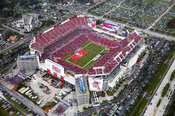Raymond James Stadium site of Super Bowl 55