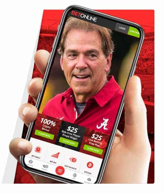 Mobile college football apps