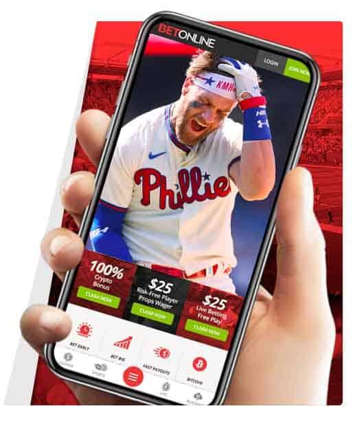 BetOnline Mobile Baseball betting