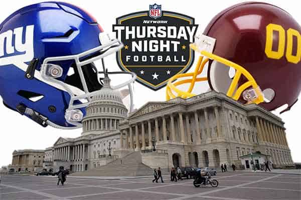 NFL odds for week 2 Thursday night football betting