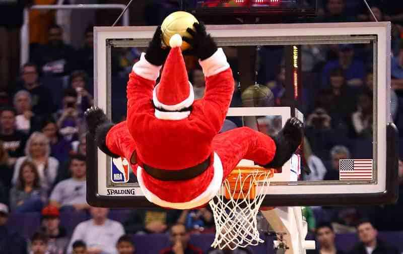 NBA games on Christmas Day December 25 betting odds