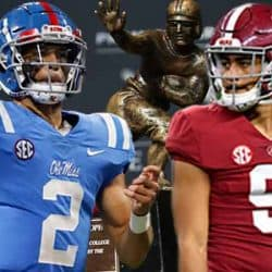 2021-2022 Heisman Odds Corral Young